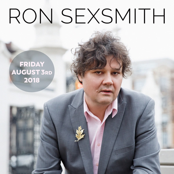 Ron Sexsmith at the Historic Gayety Theatre